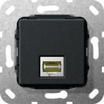 569610 System 55 Вставка: Modular Jack RJ45 Cat. 6A 10ГБ Ethernet