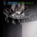 Потолочный светильник Masca  1828/8PL Argento