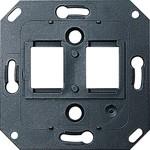 112100 S-Color Опорная пластинаы стандарта Modular Jack/Western Technik для установки гнезд стандарта Radiall