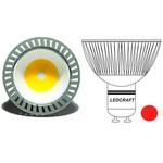 LED лампа 120 MR16(GU10) 3 Вт 220 Вольт Красный