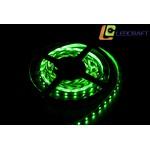 LED лента SMD 3528 4,8 Вт на метр 60 на метр IP 33 Зеленый