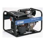 Трехфазный  дизель-генератор SDMO DX 6000 ТE (5,2 кВт)