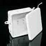 Коробка пластмассовая 85х85х40 мм с 10 вводами, IP54