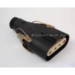 ШК 4х60-Р Розетка кабельная с замками керамика