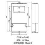 ПСЧ-3АР.05.2 10-100А, 3*220/380В