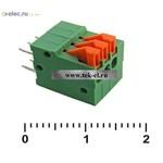 Клеммники нажимные XY123R-3 (2,54 mm) (от 500 шт.)