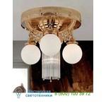 Потолочный светильник DLU 1660/3+1 gold/Opalkugel Orion