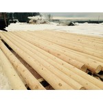 Опора деревянная пропитанная 8,5м (1м3=3,3 столба)