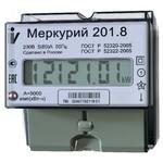 Меркурий 201.8 10-80А; 220В (цена от 616 руб. до 568 руб.)