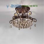 Masiero Classica 9025 PL6 Swarovski elements Emme Pi Light потолочный светильник