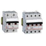 Автоматический выключатель DX-h 4 полюса характеристика B 10A 25kA | арт. 6838 | Legrand