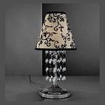 111 La Lampada TL 111/P.02 Sh Black+Transp, Настольная лампа