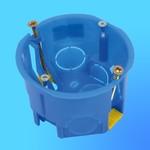 Коробка подрозетная пласт. С3Е2 (С3Е3), под гипсокартон, D=65мм (Gusi Electric)