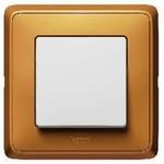 Рамка Cariva 3 поста, матовое золото | арт. 773663 | Legrand