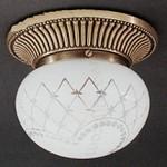 PL 7700/1 Bronzo arte Reccagni Angelo 7700-7701-7702-7703-7704-7705, Накладной светильник