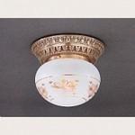 PL 7825/1 Oro francese Reccagni Angelo 7820-7821-7822-7823-7824-7825, Накладной светильник