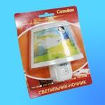 Светильник-Ночник Camelion PVC-009 декоративный 7Вт 230В (120х115х100)
