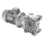 Мотор-редуктор червячный из нержавеющей стали - 93об/мин, передаточное число i-15, момент 121