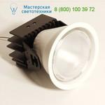 JU4238S Flexa Lighting JUNO40 GREY 3000K CRI85 11DG, точечный светильник