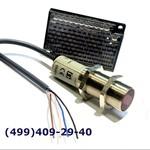E3F2-R2RB4-M-2M Фотодатчик, М18, с рефлектором, дист. 0,1-2 м, PNP, с каб. 2м, металл. корпус Omron