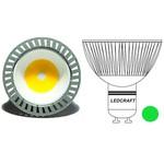 LED лампа 120 MR16(GU10) 3 Вт 220 Вольт Зеленый