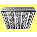 Встраиваемый люминесцентный светильник ЛВО 13-4х18-772/F-Милано 4х18Вт, электронный ПРА