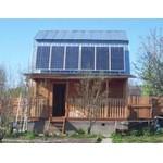 Электростанция на солнечных фотоэлементах для электроснабжения дома
