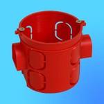 Коробка установочная КУ1104 для сплошных стен блочная 60х60 мм(HEGEL)