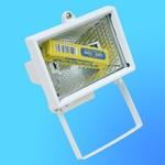 Прожектор галогенный Camelion 0101 FL-150W белый, в комплекте с лампой, IP 54, 220-240V