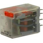 Реле миниатюрное, 24VDC, 2 CO, LED