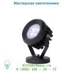 Уличный светильник Lucide LED SPOT 4x1W 3000K 320LM D17/21.5cm Schwarz 14805/04/30