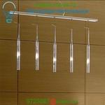 Pleiadi 5 Light Linear Pendant &'Costa