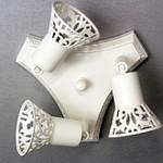 F3 White Nervilamp F1, f2, f3, Потолочная люстра