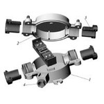 Коробки ответвительные КОС 2 для ответвлений к светильникам с лампами накаливания, ДРЛ и ДРИ мощностью до 2000 Вт от магистр. кабеля).
