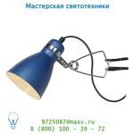 18611/71/39 Lucide KLIPPY Spot Clip E14/9W incl H28/D10,5cm Blau настольная лампа