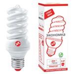 Энергосберегающая лампа 25 ВТ, ТМ Экономка