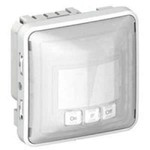 Датчик движения Plexo IP55 2-проводный, ручное управление ВКЛ/ВЫКЛ | арт. 69501 | Legrand