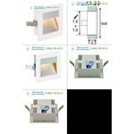 112771 SLV FLAT FRAME, CURVE светильник встраиваемый для лампы QT9 G4 20Вт макс., белый/ алюминий