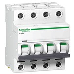 ACTI 9, iC60, iC60H 4П 63A D, A9F85463, автоматический выключатель Schneider Electric