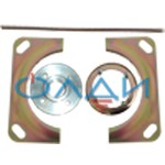 Комплект крепежа фарфорового изолятора ИП-10