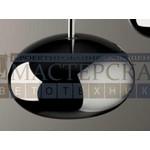 De Majo подвесной светильник Boa S3D хром-серый