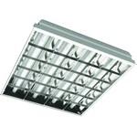 Светильник люминесцентный ARS/R 4x18 для потолка Грильято