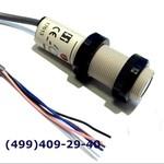 E3F2-DS30B4-2M Фотоэлектрический датчик М18, зона срабатывания до 300 мм, диффузный, PNP, NO, E3F2-DS30B4-M-2M Omron