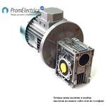 Червячный мотор-редуктор 140 об/мин. передаточное число i-10, момент 455