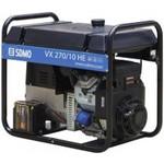 Бензиновая электростанция для сварки постоянным током до 270А - SDMO VX 270/10 HE (3/6,4 кВт)