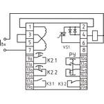 Однофазное реле  тока РСТ-80ДУ  с зависимой выдержкой времени, токовой отсечкой, дешунтированием и указателым реле