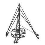 Телескопическая мачта высотой 20 метров