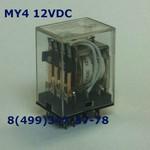 MY4 12VDC Реле 4 группы 5 Ампер