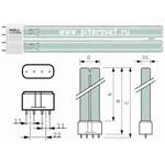 Лампа TUV PL-L 55W/4P HF 1CT