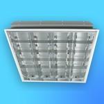 """Светильник люминесцентный """"Techno LUX"""" TLC418 (4*18, 595*595мм) зеркальный, встраиваемый"""